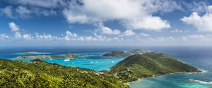 British Virgin Islands Aerial View