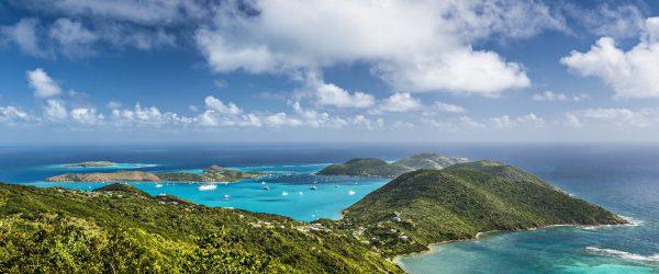 British Virgin Islands Aerial View